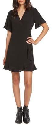 Willow & Clay Flutter Sleeve Wrap Dress