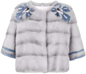 Simonetta Ravizza mink fur short jacket