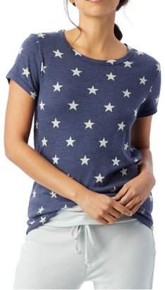Alternative Apparel Blue Star Tee