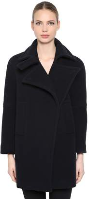 Sportmax Wool Warp Short Coat