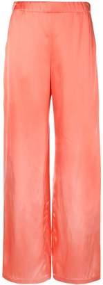 Zero Maria Cornejo elasticated waist trousers