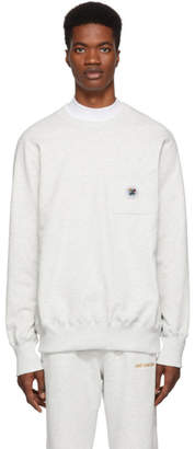 Leon Aime Dore Grey Pocket Sweatshirt