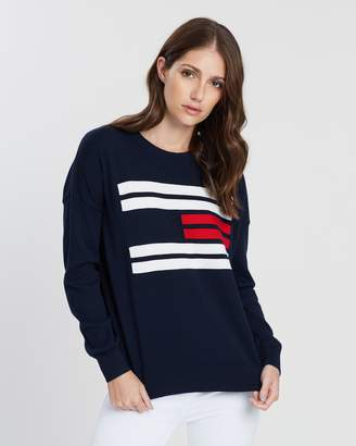 Tommy Hilfiger Essential Flag Crew Neck Sweater