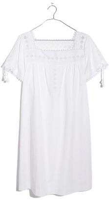 Madewell Women's Eyelet Shift Dress