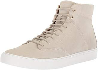 TCG Premium Men Shoe Porter All Leather High Top Sneaker Laces
