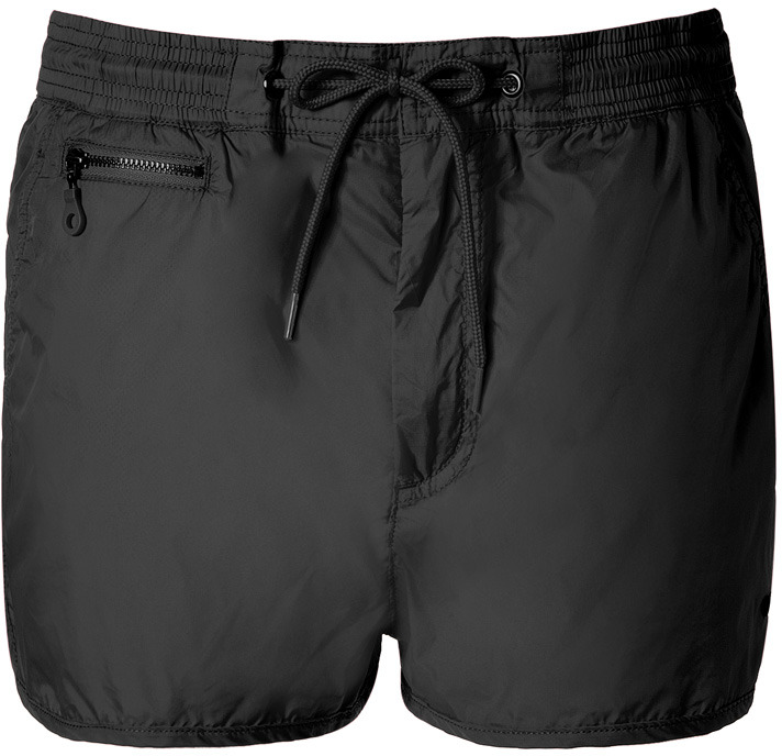 Marc by Marc Jacobs Black Robin Nylon Shorts