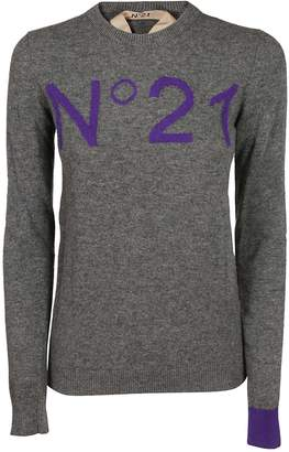 N°21 N.21 Embroidered Sweater