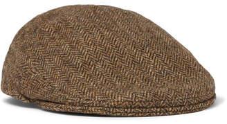 Anderson & Sheppard Wool-Tweed Flat Cap