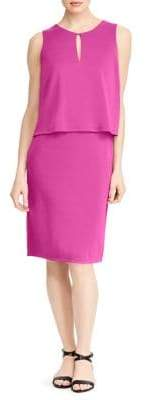 Lauren Ralph Lauren Front Keyhole Jersey Dress