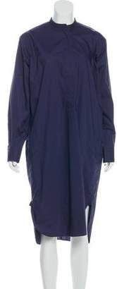 Sofie D'hoore Long Sleeve Midi Dress