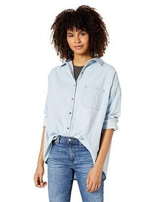 Billabong Women's Feeling Salty Button Down Shirt
