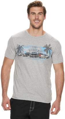 Big & Tall Cotton Links Car Graphic Tee