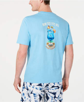 Tommy Bahama Men Rum Size Fits All Graphic T-Shirt