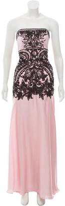 Sue Wong Strapless Evening Dress w/ Tags