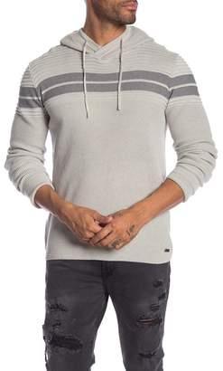 ProjekRaw Projek Raw Long Sleeve Knit Hoodie