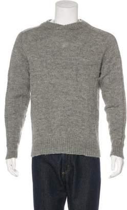 Gianni Versace Alpaca and Wool-Blend Sweater