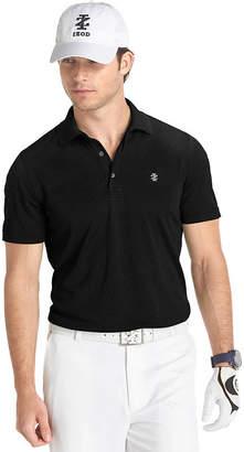 Izod Short Sleeve Performance Golf Grid Polo