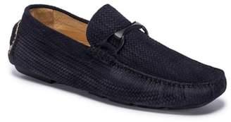 Bugatchi Amalfi Woven Bit Driving Loafer