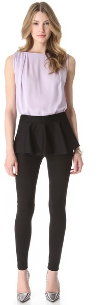 Alice + Olivia Peplum Pants