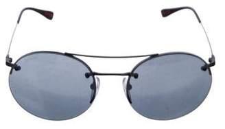 Prada Sport Round Tinted Sunglasses