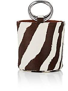 Simon Miller Women's Bonsai Calf Hair Bucket Bag - Brown