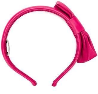 Prada bow detail hairband