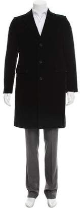 Calvin Klein Velvet Top Coat