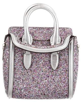 Alexander McQueen Glitter Mini Heroine Satchel