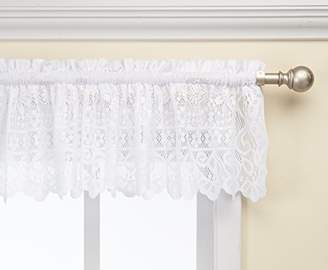 Lorraine Home Fashions Hopewell Lace Window Valance