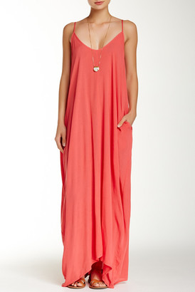 Love Stitch Gauze Maxi Dress $88 thestylecure.com