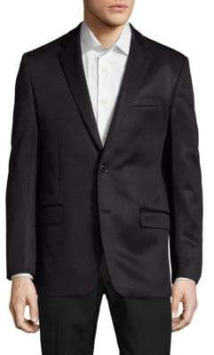 Versace Giacca Solid Notch-Lapel Jacket