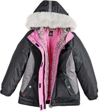 ZeroXposur Girls 7-16 Carol 3-in-1 Systems Jacket