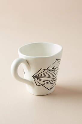 Anthropologie Vector Mug