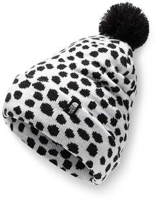 ce6efd402c1 The North Face Unisex Dotted Ski Tuke Pom Hat - Kids
