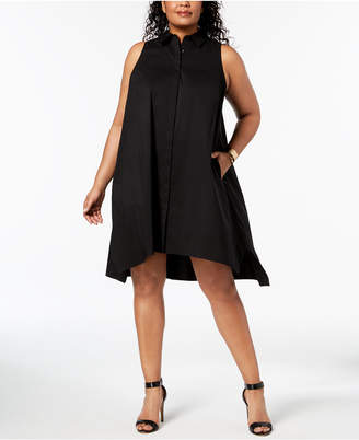 Plus Size Trapeze Dress Shopstyle