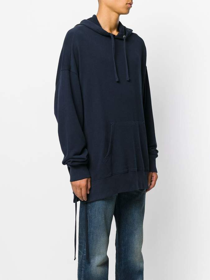 Faith Connexion oversized laced hoodie