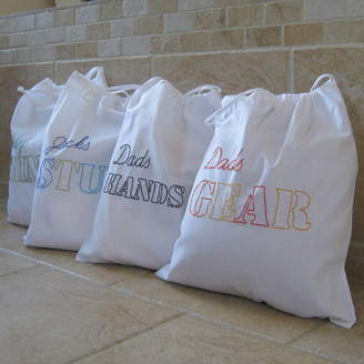 B Line Bespoke Men's Embroidered Tidy Bag