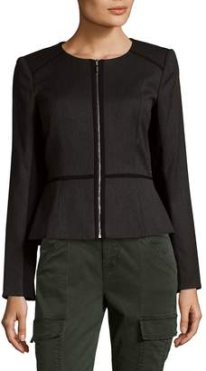 Calvin Klein Women's Woven Blazer