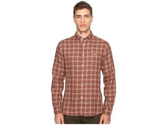 Todd Snyder Linen Windowpane Shirt Men's Clothing