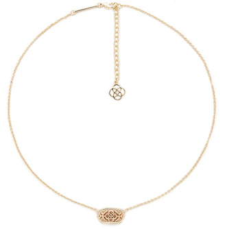 Kendra Scott Elisa Necklace $55 thestylecure.com