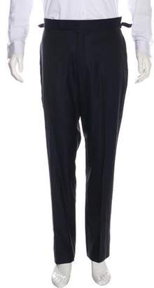 Tom Ford Twill Striped Tuxedo Pants