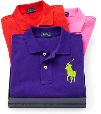 Polo Ralph Lauren Skinny Fit Polo Shirt Gift Set $295.50 thestylecure.com