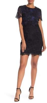 Trina Turk Caterina Floral Crochet Lace Sheath Dress