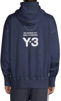 Y-3 Stacked Logo Hoodie