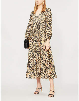 e6ba02d9f533 Leopard Print Evening Dress - ShopStyle Australia