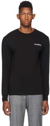 Han Kjobenhavn Black Casual Long Sleeve T-Shirt