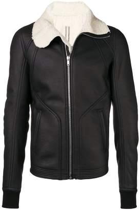 Rick Owens slim-fit shearling jacket