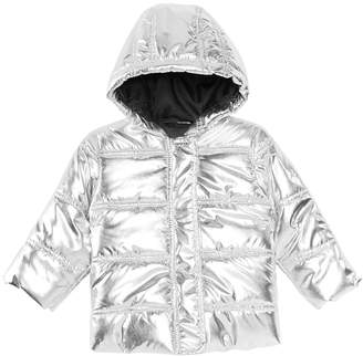 First Impressions Baby Boys & Girls Metallic Puffer Jacket