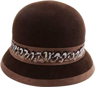 Siggi Felt Feather Trim Cloche