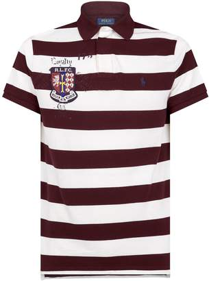 Polo Ralph Lauren Embroidered Crest Polo Shirt